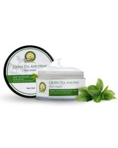 Health Horizons Green Tea & Hemp Face Cream 50gm