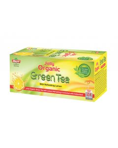Jolly Organic Green Tea Lemon