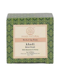 Khadi Natural Ayurvedic Kiwi Fruit Lip Balm -5gm