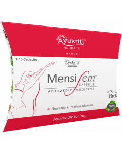 Ayukriti Herbals Mensifem Capsule to Regulate Menses- 1*10 Tablets