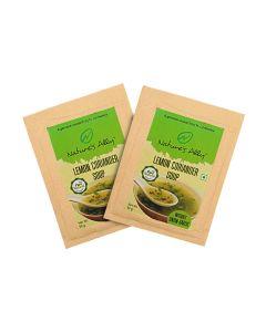 Nature's Ally Lemon Coriander soup ( combo Pack) - 100g