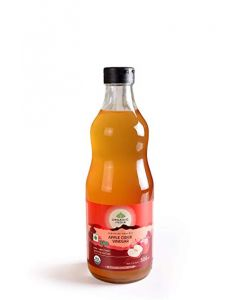 Organic India Organic Apple Cider Vinegar 500 Ml for Health Care