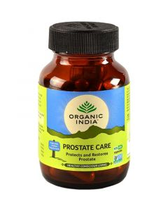Organic India Prostate Care 60 Capsules Bottle for Health Care