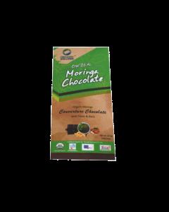 Organic Wellness Zeal Moringa Chocolate With fruit and nuts