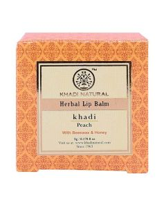 Khadi Natural Ayurvedic Peach Lip Balm -5gm