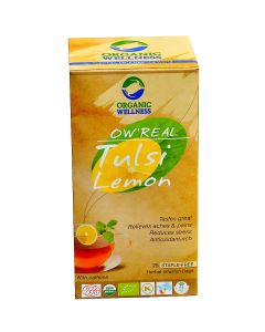 Organic Wellness Real Tulsi Lemon Tea