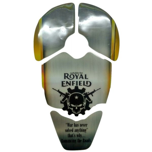 Customized Enfield Bullet Tank Sticker Protector Pad For Royal Enfield Bullet Electra Twinspark