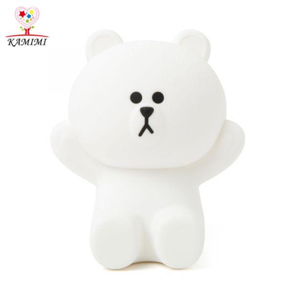 new children hand USB Charging Night Light Rabbit Soft Toys
