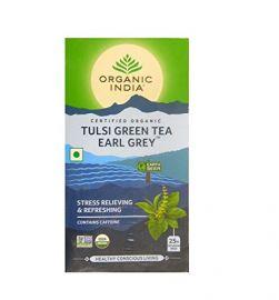 Organic India Tulsi Green Tea Earl Grey 25 TB