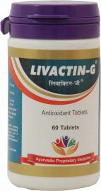 J & J Dechane Livactin-G Anti-Oxidant Tablets