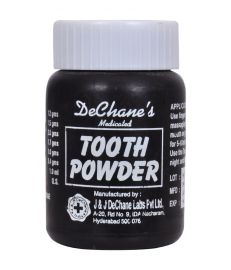 J & J Dechane Medicated Tooth Powder