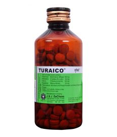 J & J Dechane Turaico Diuretic And Urinary Antiseptic Tablets