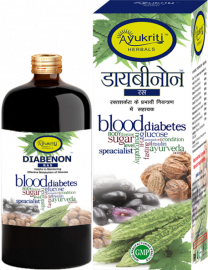Ayukriti Herbals Diabenon Ayurvedic Ras For Diabetes- 500ml