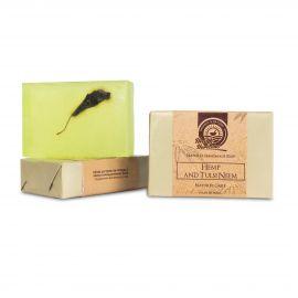 Health Horizons Hemp Soap With Tulsi & Neem Extracts 125g