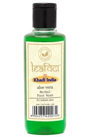 Khadi Leafveda Aloe Vera Face Wash For Face Care 210ml