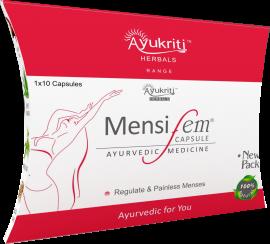 Ayukriti Herbals Mensifem Capsule to Regulate Menses- 1*10 Tablets