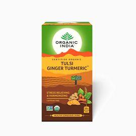 Organic India Tulsi Ginger Turmeric Tea 25 TB