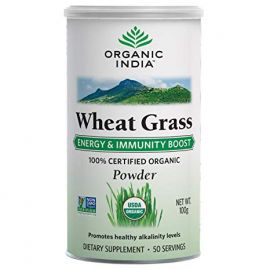 Organic India Wheat Grass 100 Grm for Health Care