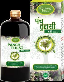 Ayukriti Herbals Panch Tulsi/Basil Ras- 500ml