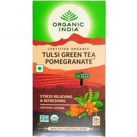 Organic India Tulsi Green Tea Pomeogranate 25 TB